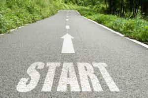 route de campagne concept Start