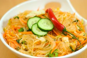 salad of Korean noodle